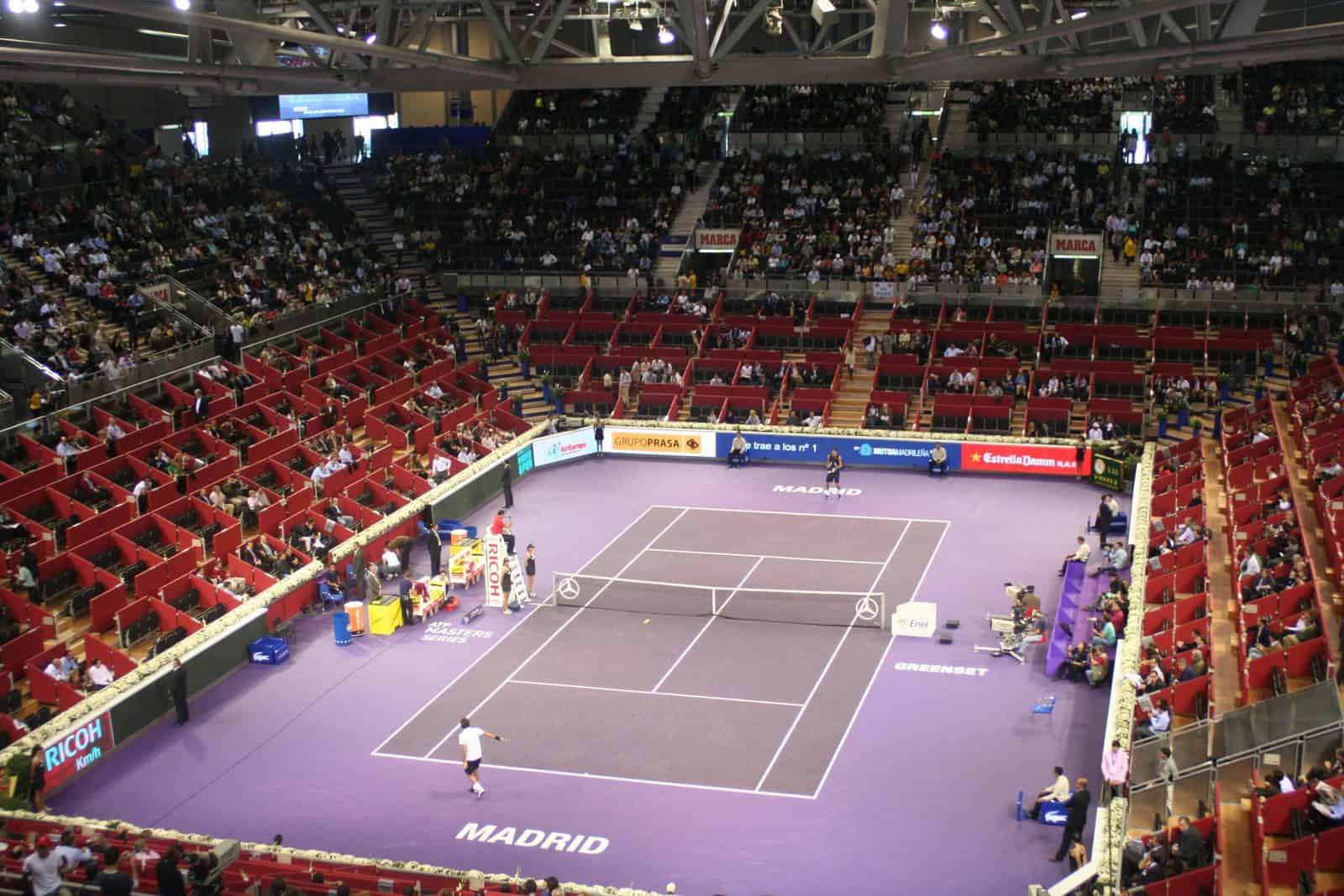 madrid master tennis